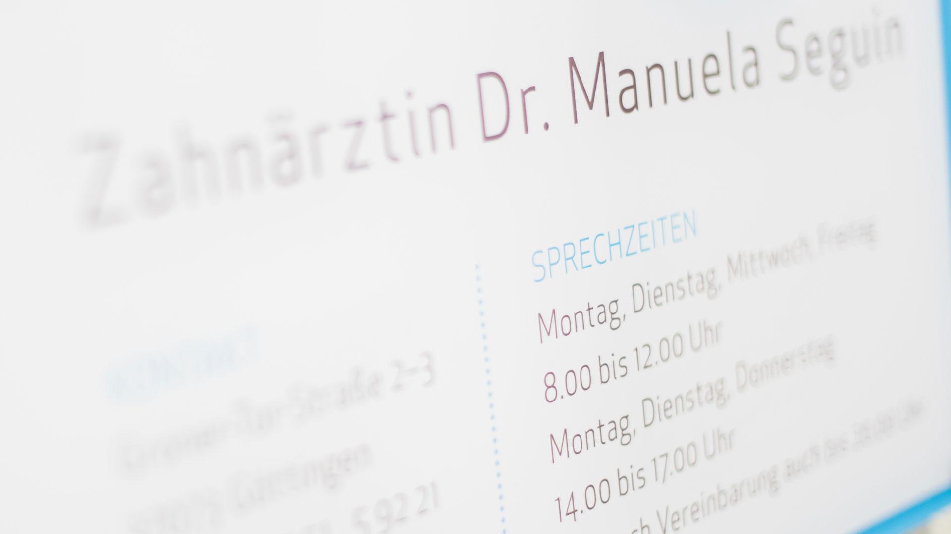 Zahnärztin Dr Manuela Seguin Zahnarztpraxis Am Groner Tor